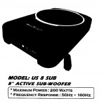 AMERICA SOUND US 8 SUB ACTIVE SUB-WOOFER