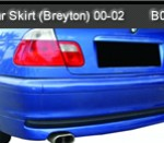 BMW-E46 00-02 REAR SKIRT BREYTON (B0672)