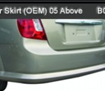 CHEVROLET-OPTRA 05-ABOVE REAR SKIRT OEM (B0845)