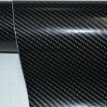 EXTERIOR ACCESSORIES 2013 NEWLY LAUNCH T1R 3M STYLE 4D REAL CARBON FIBER BONNET STICKER (60 X 50)
