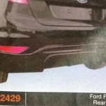 FORD FIESTA REAR SKIRT (PU2429)