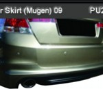 HONDA ACCORD 09 REAR SKIRT MUGEN (PU2221)