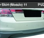 HONDA ACCORD 11 FACELIFT REAR SKIRT MODULO (PU2408)