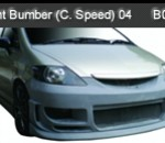 HONDA CITY 04 FRONT BUMPER CHARGE SPEED (B0957)