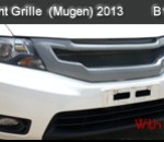 HONDA CITY 13 FRONT GRILLE WITH NETTING MUGEN (B1418)