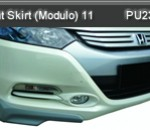 HONDA INSIGHT 11 FRONT SKIRT MODULO (PU2388)