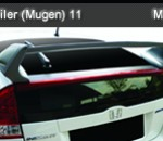 HONDA INSIGHT 11 SPOILER WITH LOGO MUGEN (356)