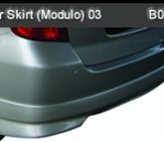 HONDA JAZZ 03 REAR SKIRT MODULO (B0714)