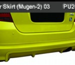 HONDA JAZZ 03 REAR SKIRT MUGEN-2 (PU2076)