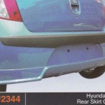 HYUNDAI i10 REAR SKIRT OEM (PU2344)