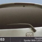 HYUNDAI i10 SPOILER WITH LED OEM (M353)