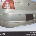 KIA SPECTRA REAR SKIRT OEM (B0739)