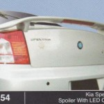 KIA SPECTRA SPOILER WITH LED OEM (M154)