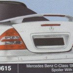 MERCEDES BENZ C CLASS SPOILER WITH LED (M0615)