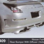 NISSAN FAIRLADY REAR BUMPER WITH DIFFUSER VEILSIDE (B1409)