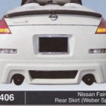 NISSAN FAIRLADY REAR SKIRT WEBER SPORT (B1406)