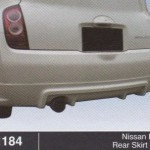 NISSAN IMPUL REAR SKIRT OEM (B1184)