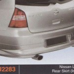 NISSAN LIVINA REAR SKIRT IMPUL (PU2283)