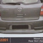 NISSAN LIVINA REAR SKIRT SPORTY (PU2201)