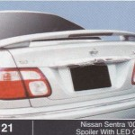 NISSAN SENTRA 00-03 SPOILER WITH LED OEM (M121)