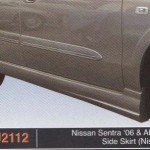 NISSAN SENTRA 06-ABOVE SIDE SKIRT NISMO (PU2112)