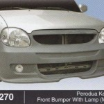 PERODUA KELISA FRONT BUMPER WITH LAMP MINI (B1270)