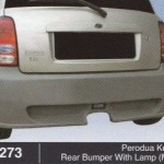 PERODUA KELISA REAR BUMPER WITH LAMP MINI (B1273)
