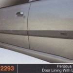 PERODUA VIVA DOOR LINING WITH LOGO (PU2293)