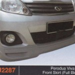 PERODUA VIVA ELITE FRONT SKIRT FULL BLOOM (PU2287)