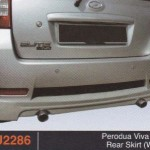 PERODUA VIVA ELITE REAR SKIRT WALD (PU2286)