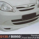 PERODUA VIVA FRONT SKIRT FULL BLOOM (PU2135)
