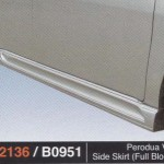 PERODUA VIVA SIDE SKIRT FULL BLOOM (PU2136)