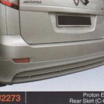 PROTON EXORA REAR SKIRT C-ONE (PU2273)