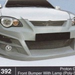 PROTON GEN 2 FRONT BUMPER WITH LAMP POLY-STYLE (B1392)