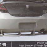 PROTON GEN 2 REAR BUMPER CHARGE SPEED (B1149)