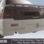 PROTON ISWARA AEROBACK REAR BUMPER WITH LAMP MMC (B0938)PROTON ISWARA AEROBACK REAR BUMPER WITH LAMP MMC (B0938)