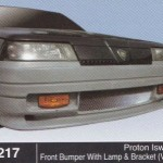 PROTON ISWARA FRONT BUMPER WITH LAMP & BRACKET VR4 (B1217)