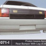 PROTON ISWARA REAR BUMPER WITH LEG E36-M3 (B1071-I)