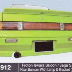 PROTON ISWARA SALOON REAR BUMPER WITH LAMP & BRACKET MMC (M0912)