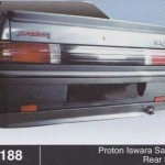 PROTON ISWARA SALOON REAR SKIRT (B0188)