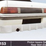 PROTON ISWARA SALOON REAR SKIRT DAMD (B1153)