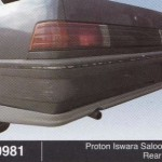 PROTON ISWARA SALOON SE REAR SKIRT (B0981)