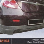 PROTON PERSONA REAR SKIRT PROMOTE (PU2154)