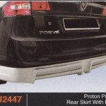 PROTON PREVE REAR SKIRT WITH PIPE (PU2447)