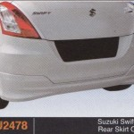 SUZUKI SWIFT 13 REAR SKIRT OEM (PU2478)