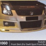 SUZUKI SWIFT FRONT SKIRT FOR SWIFT SPORT FRONT BUMPER (B1060)