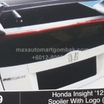 HONDA INSIGHT 2012 FACELIFT SPOILER WITH LOGO MUGEN (M419)
