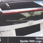 HONDA INSIGHT SPOILER WITH LOGO MUGEN (356)