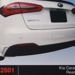 KIA CERATO K3 REAR SKIRT (PU2501)