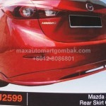 MAZDA 3 2014 REAR SKIRT OEM (PU2599)